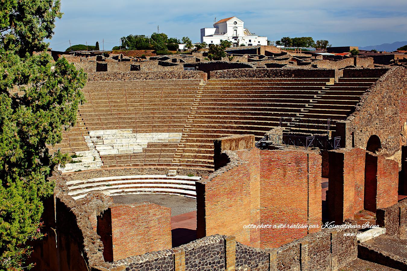 Amphithéâtre de Pompei