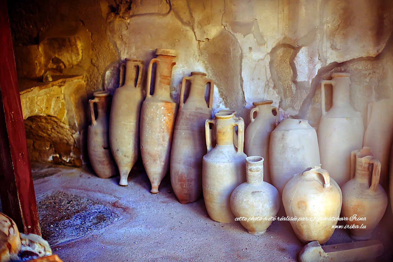 Vases à l'huile