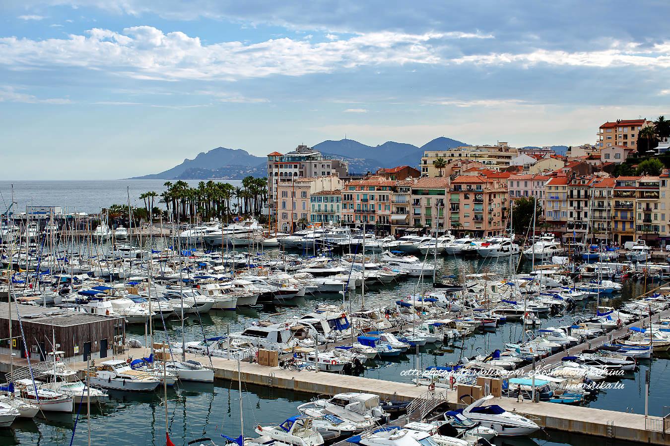 Yachts à Cannes