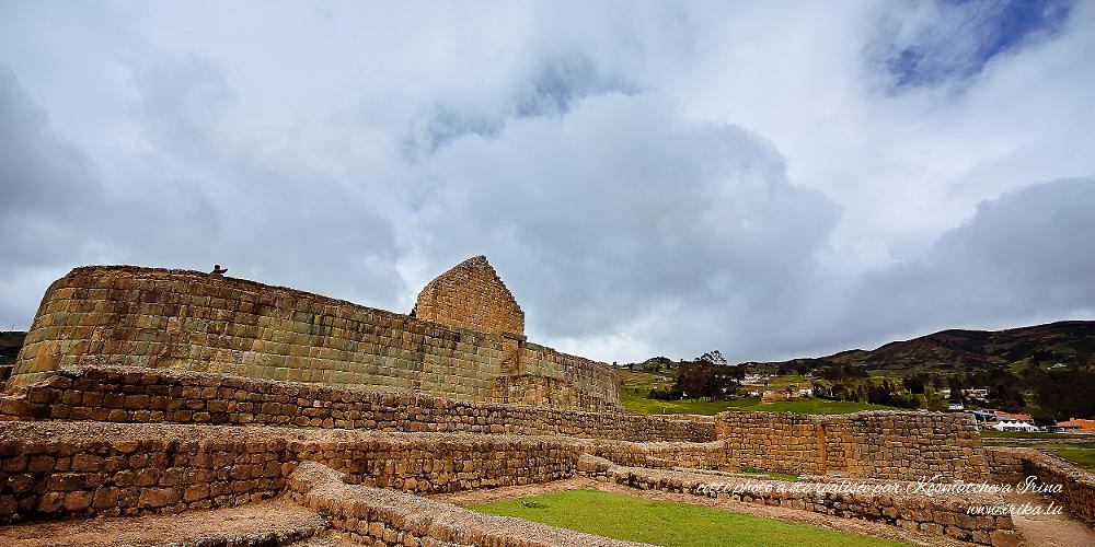 Mur d'un temple