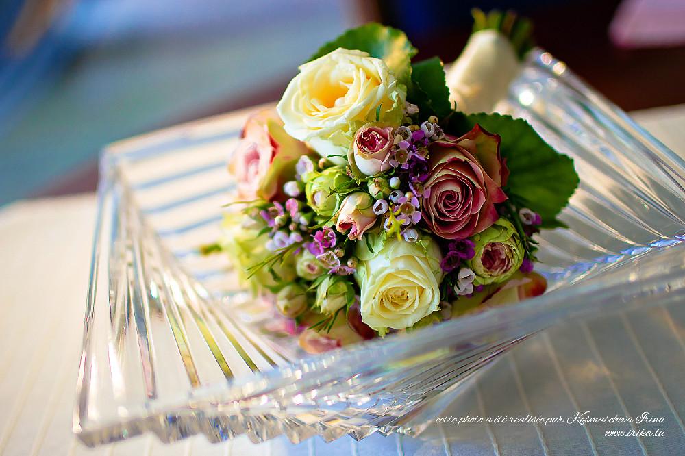 Fleurs dans le vase