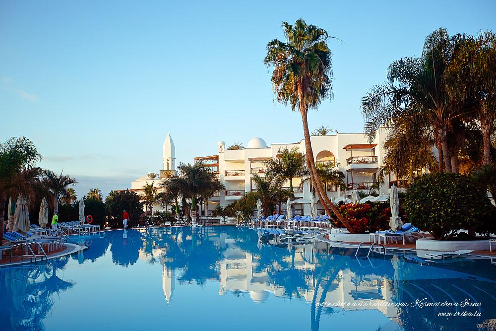 Dans un hôtel à Lanzarote