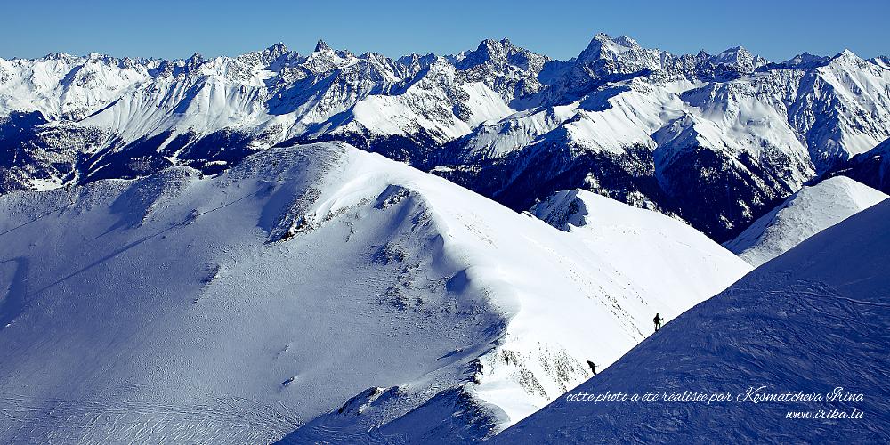 Deux alpinistes