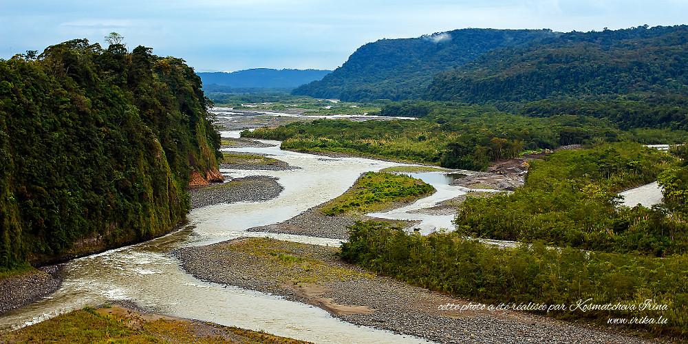 Bords d'une rivière