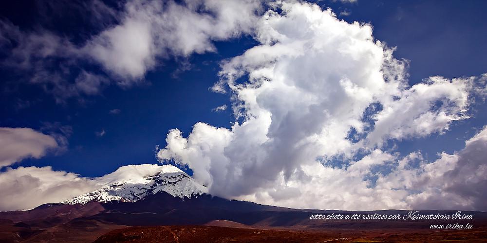 Majesté du volcan