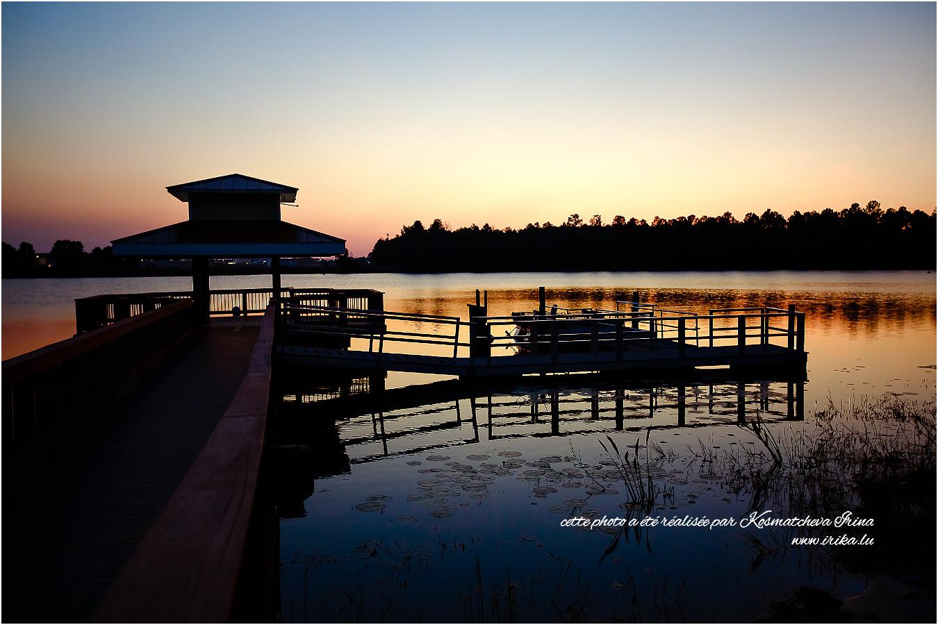 Lac près d'Orlando