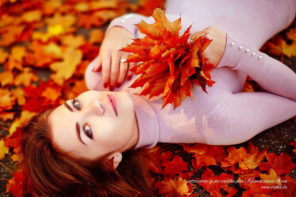 Faisceau de feuilles d'érable