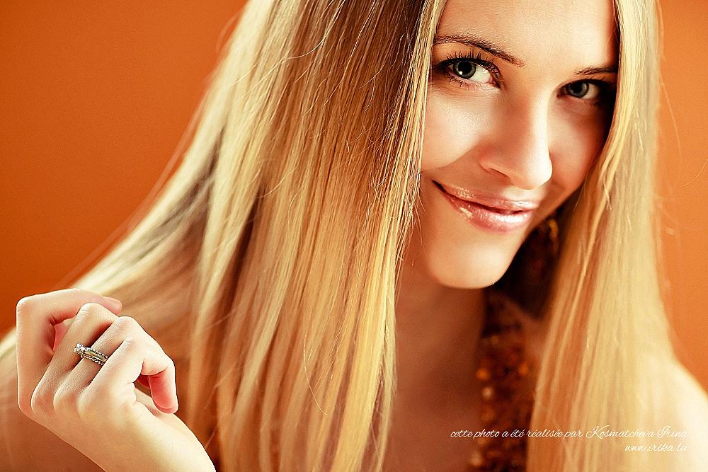 Un très joli sourire coquin