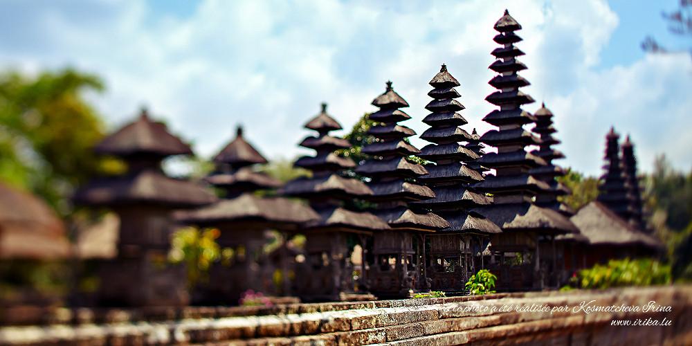 Pyramides d'un temple