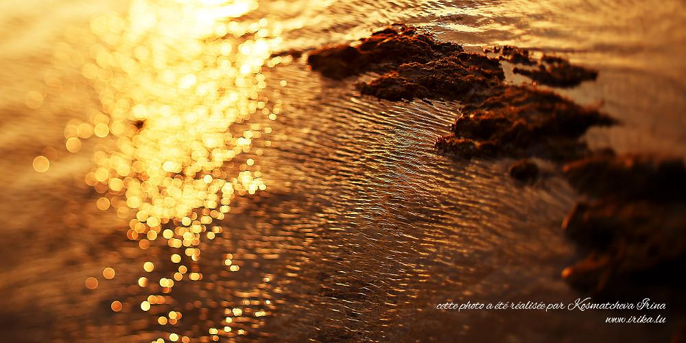 Reflets du soleil