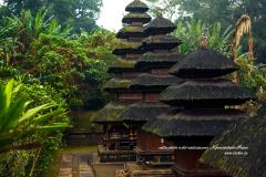 Trois temples balinais