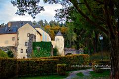 Façade latérale du château de Bourglinster
