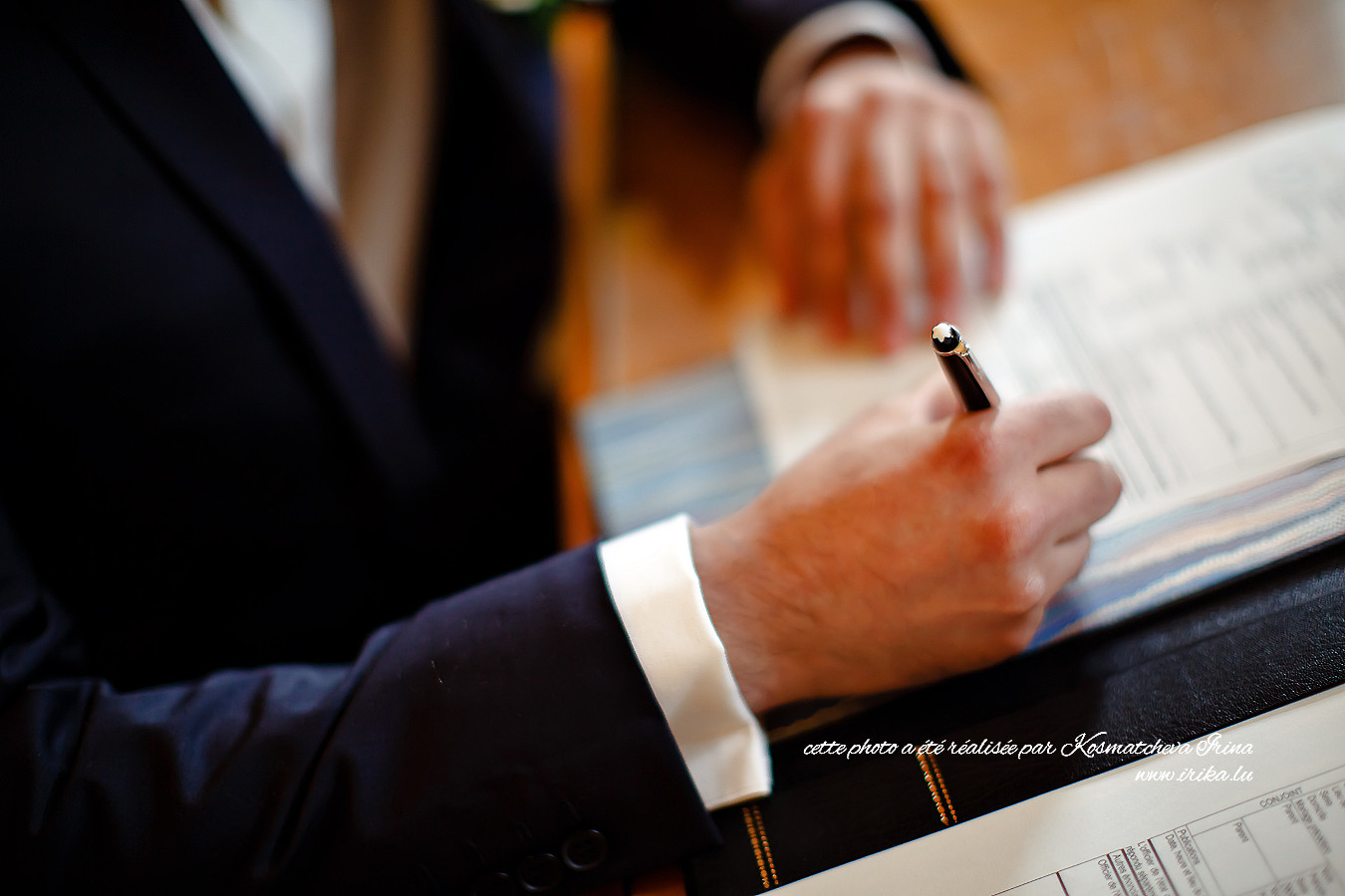 Au stylo Montblanc