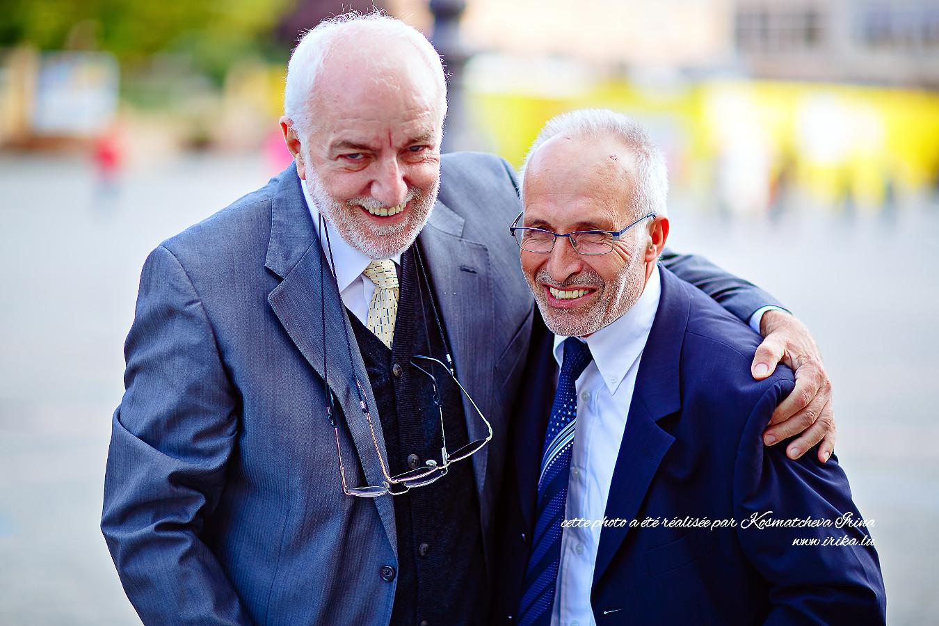 Deux vieux amis