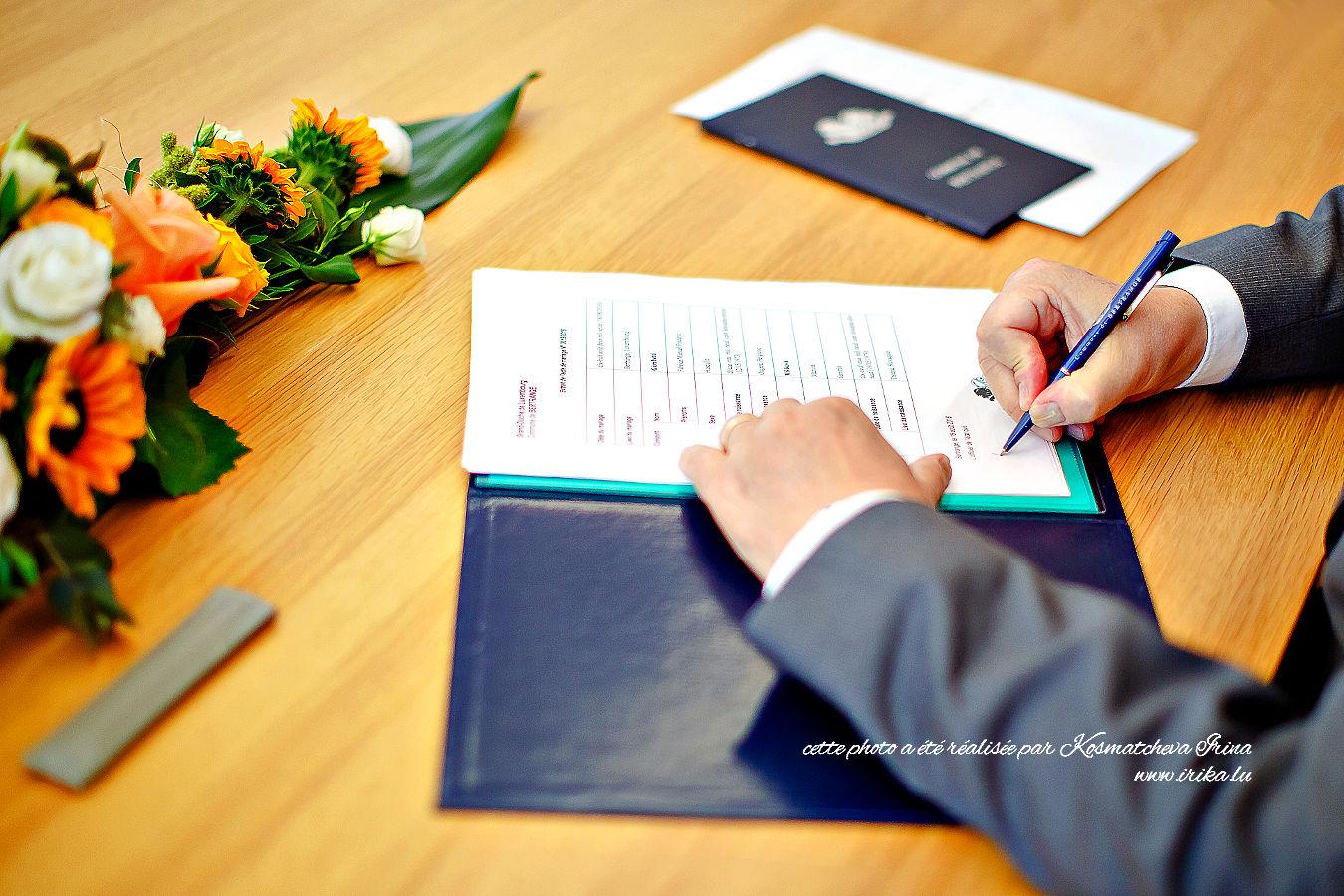 Signatures du bourgmestre