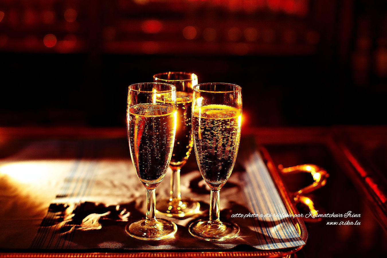 Trois verres d'or