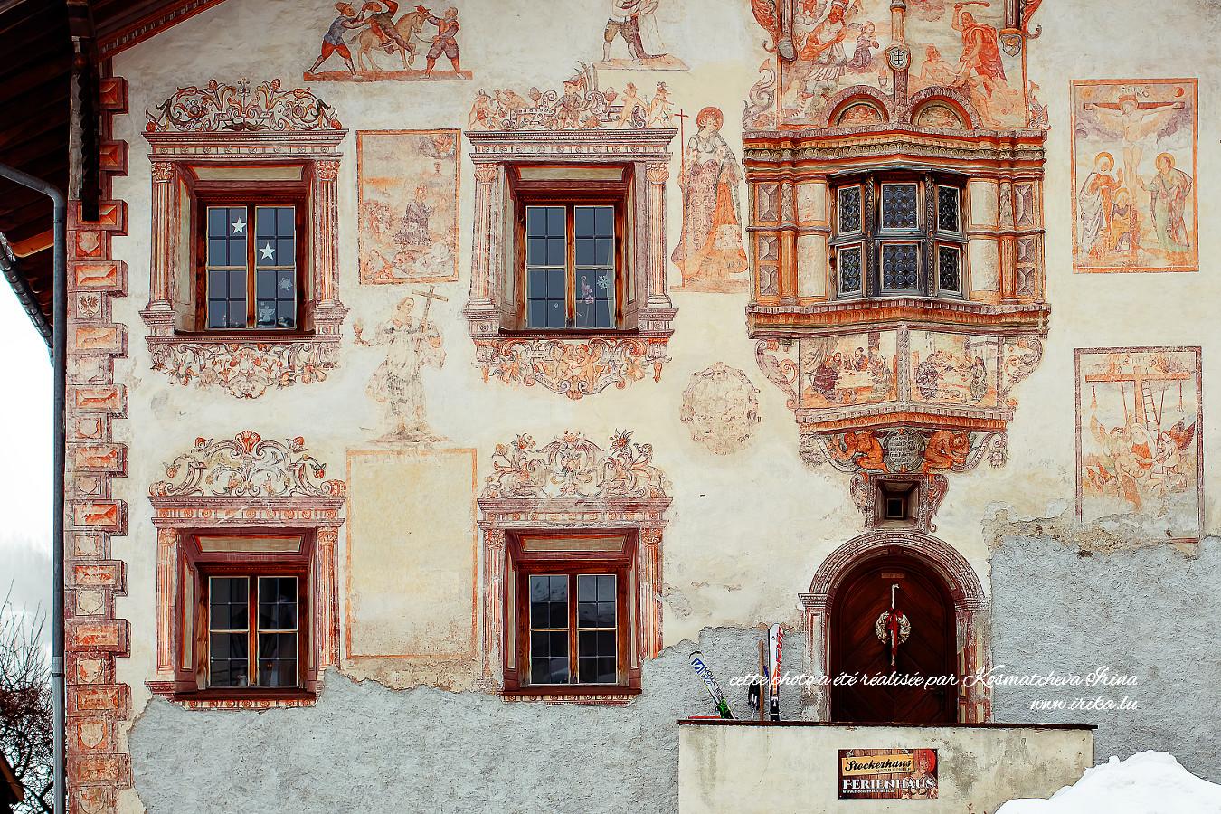 Façade d'une maison autrichienne