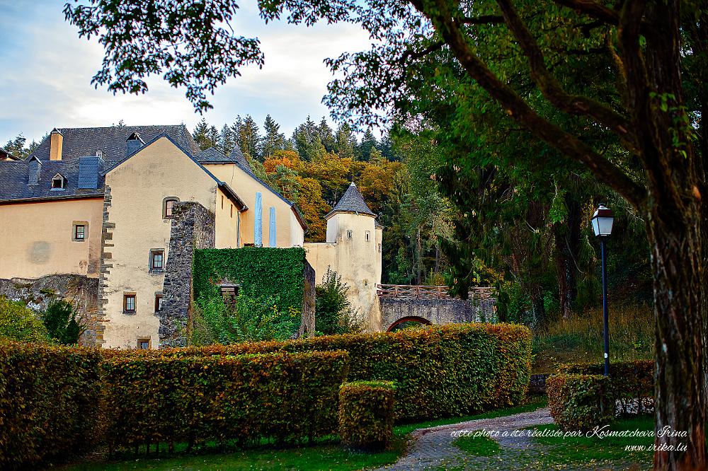Château médiéval de Bourglinster