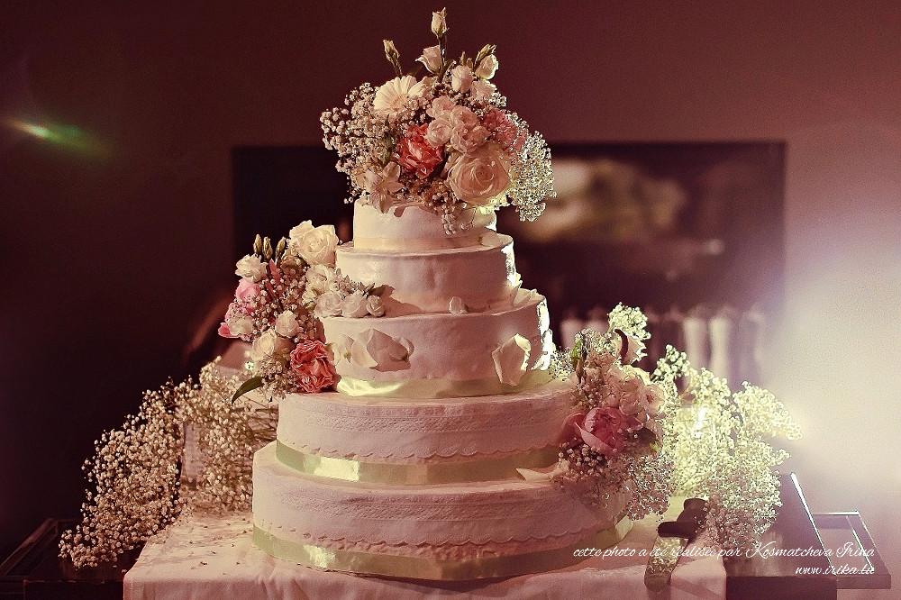 Grand gâteau du soir
