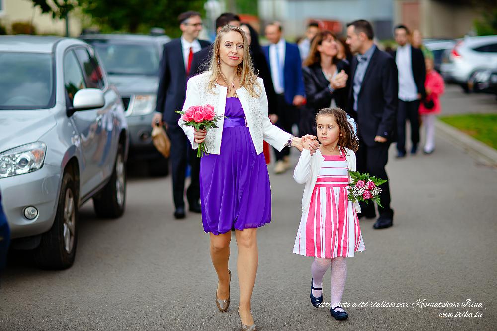 La mère et sa grande petite fille