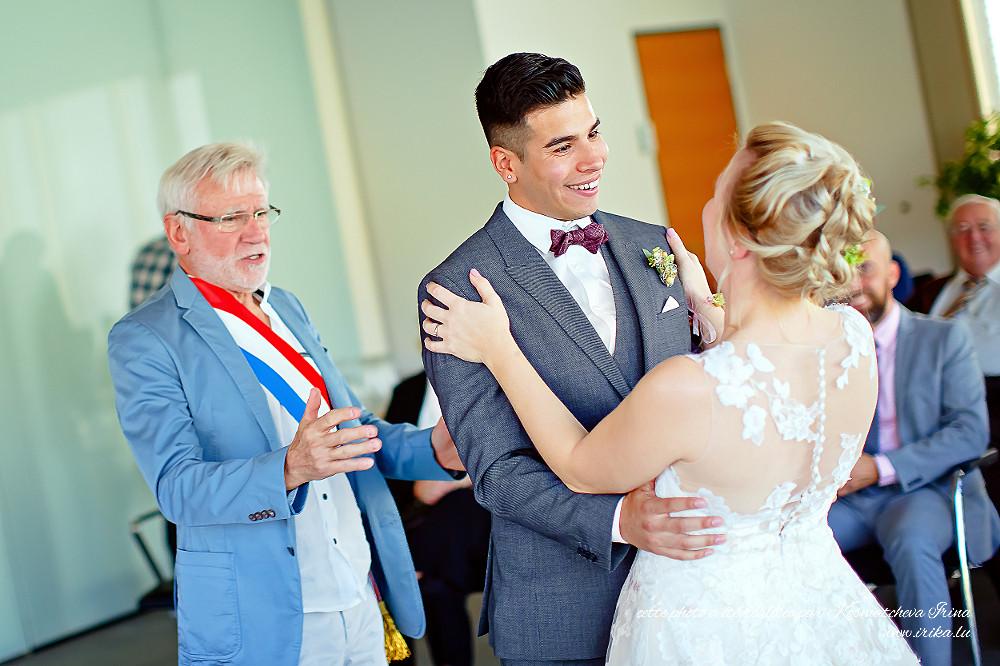 Les voilà mariés