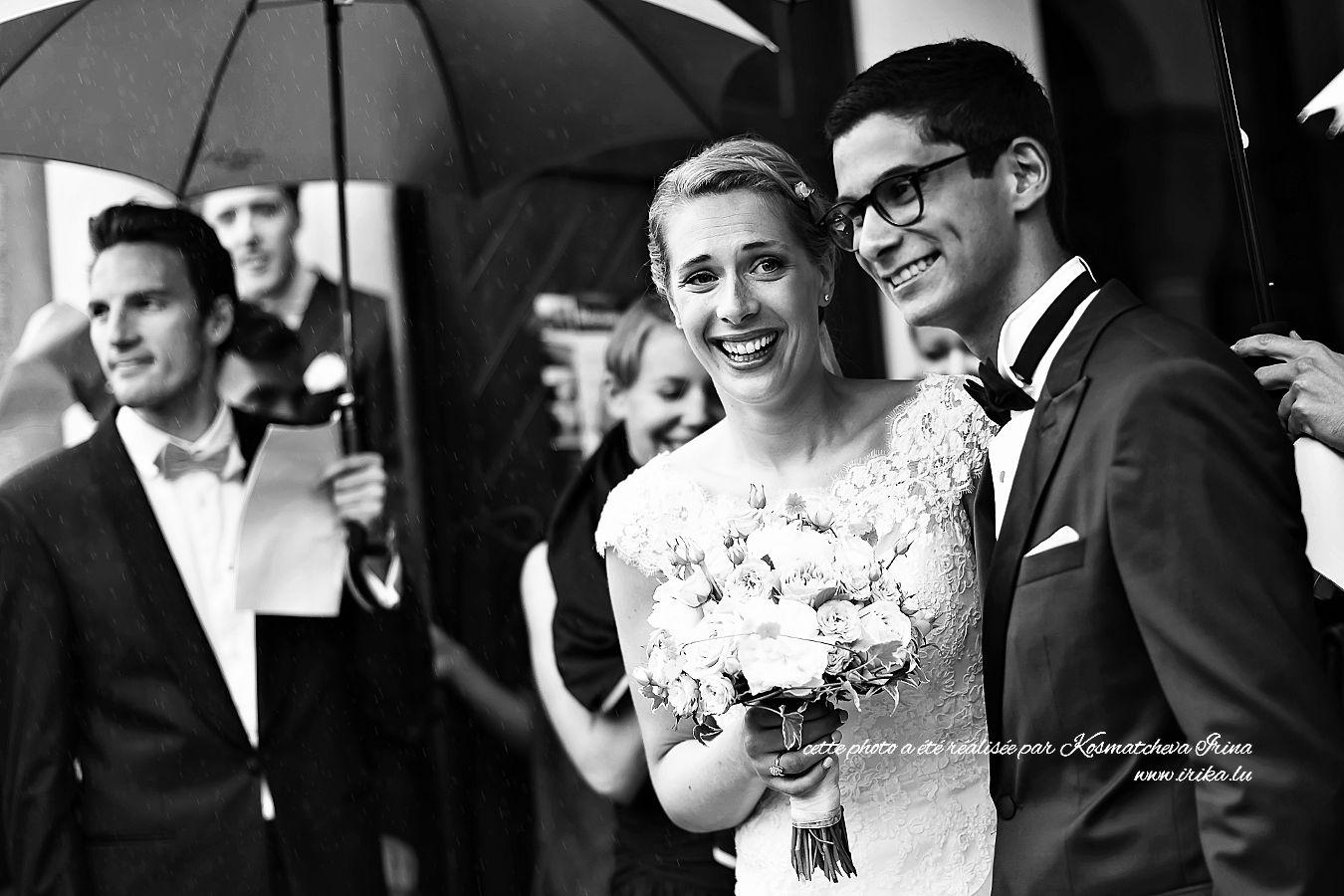 Mariage pluvieus mariage heureux