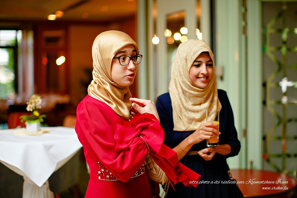 Deux jeunes muslimes