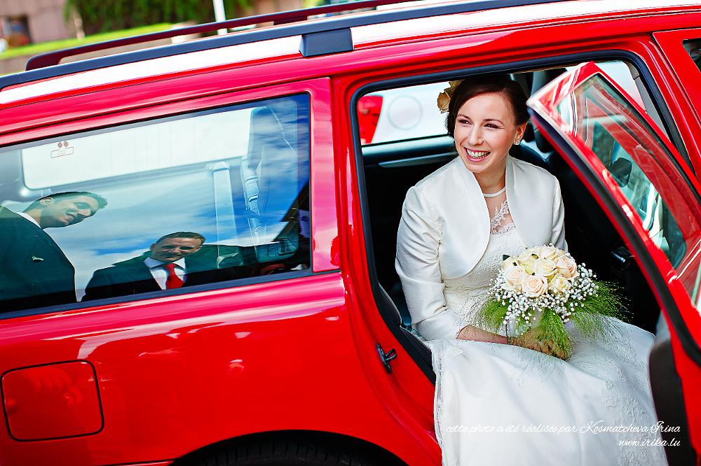 La mariée et ces deux temoins