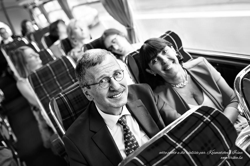 Deux places dans un bus