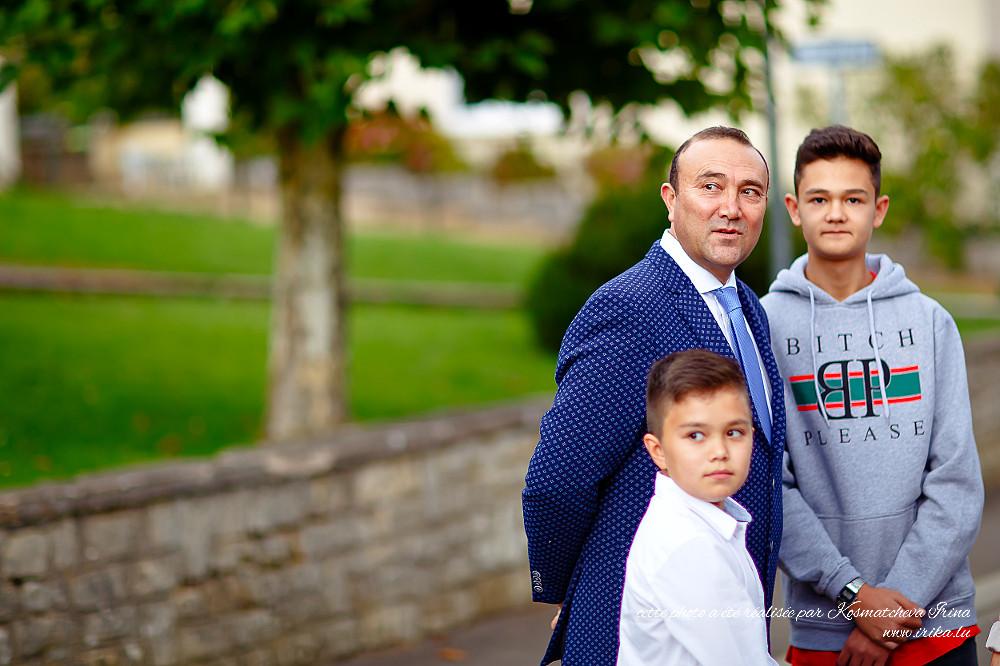 Père et ses deux fils