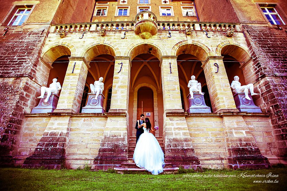 Dans le château d'Ansembourg