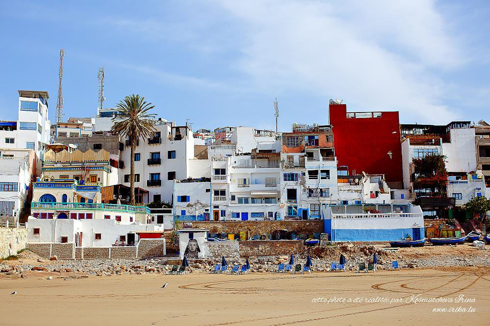 À-la-plage-moroccaine