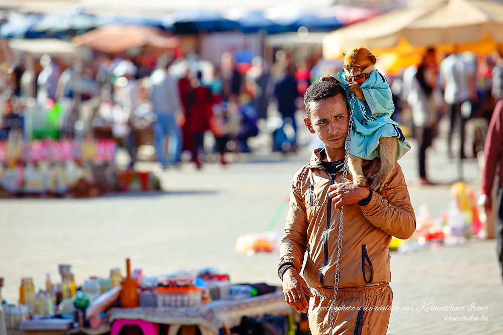 Homme-avec-un-petit-singe