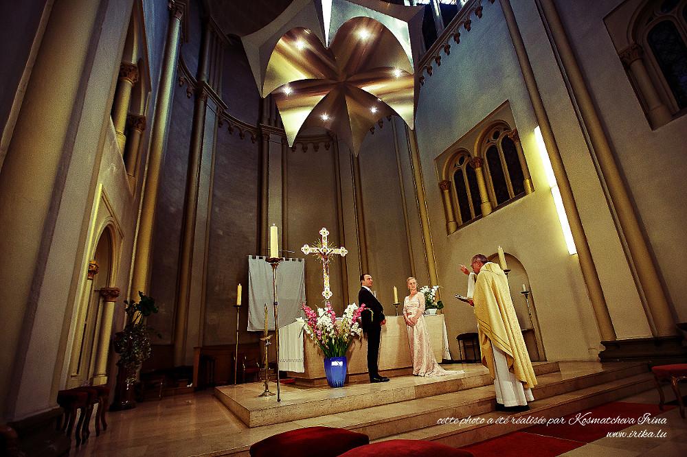 La bénédiction du prêtre
