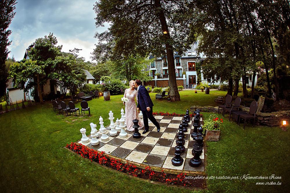 Mariage c'est un grand jeu d'échecs
