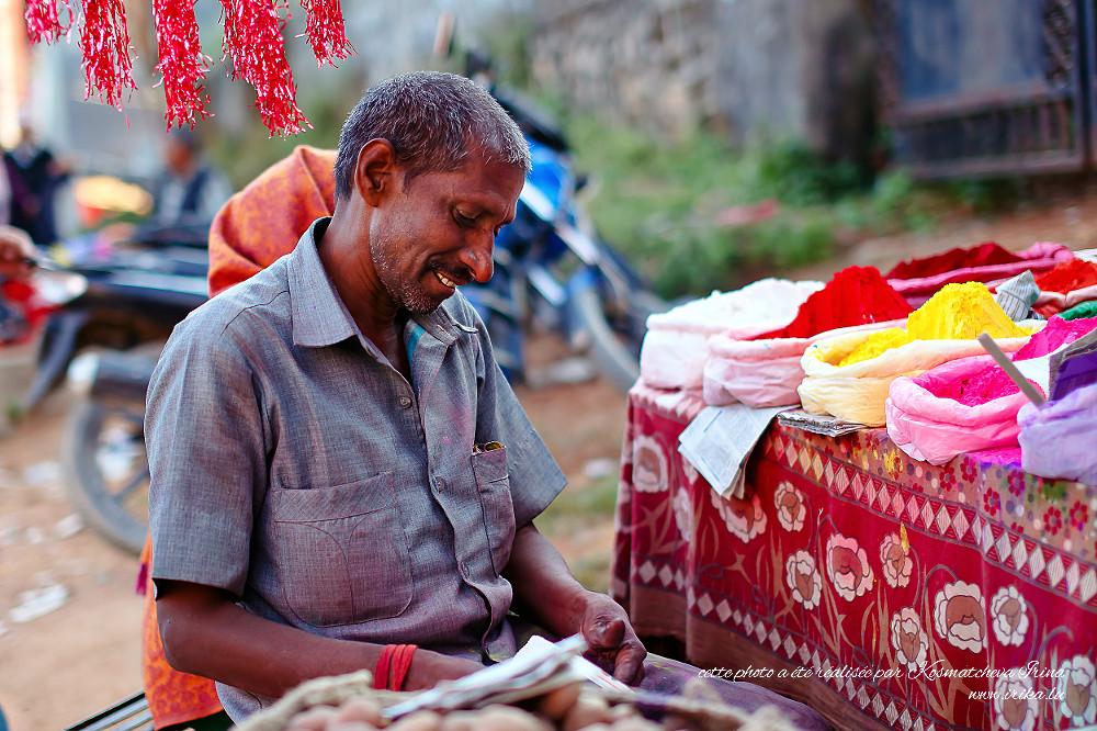 Au marché d'épices