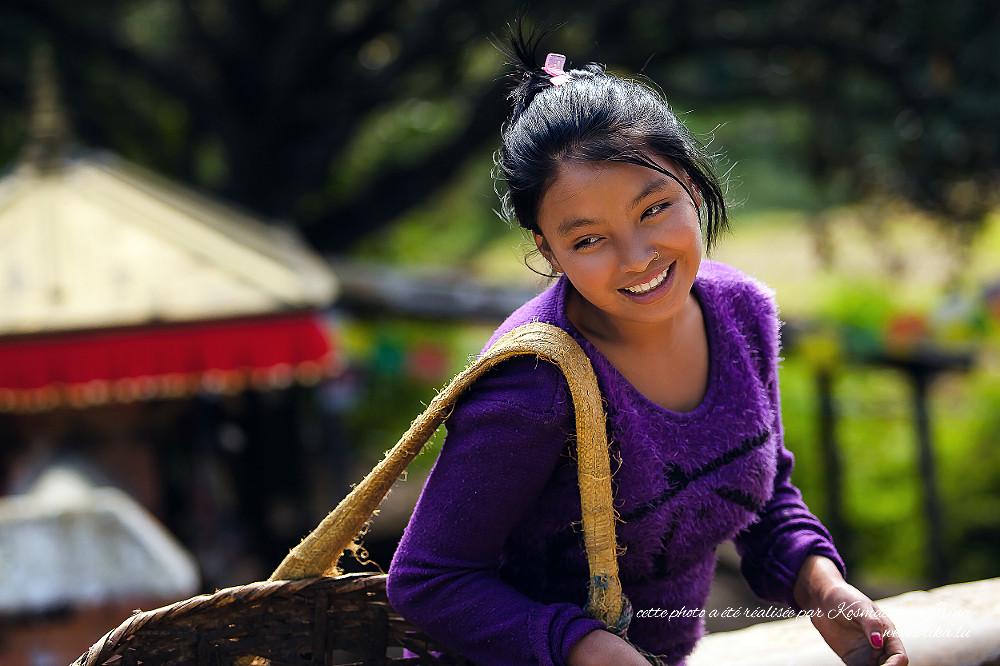 Belle fille népalaise