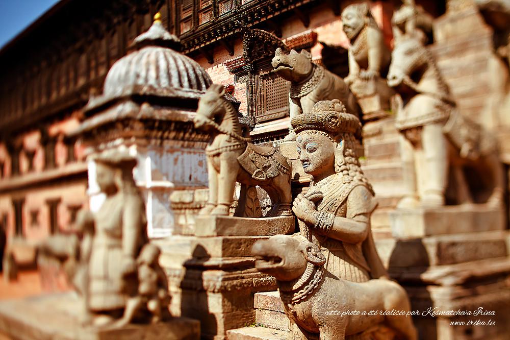 Décors du temple