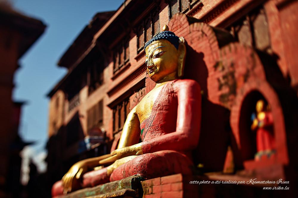 Grande statue de Buddha