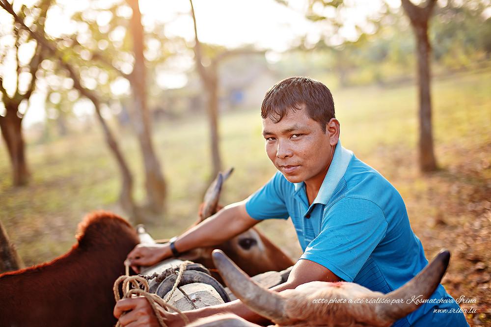 Paysan népalais