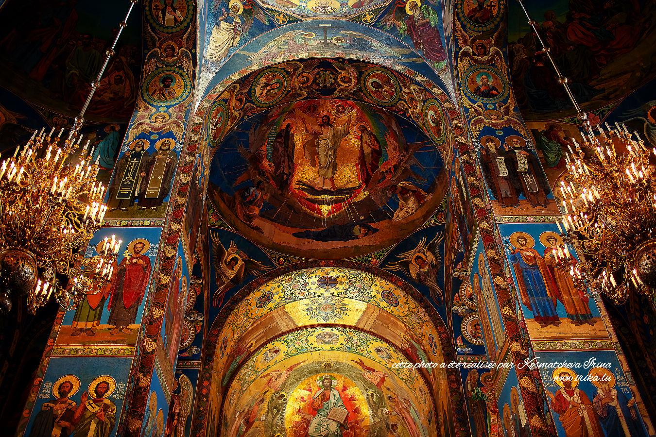 Dans l'église orthodoxe