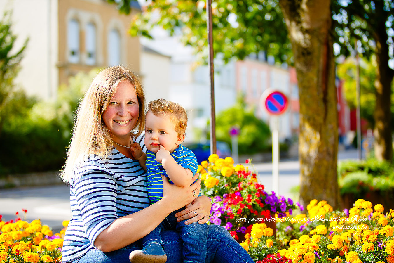 Isabelle et son fils Scott