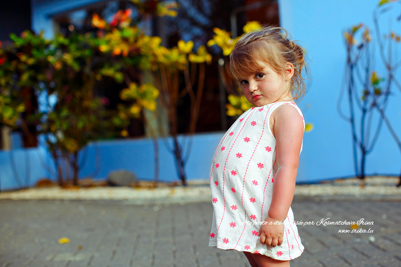 Enfant vexé
