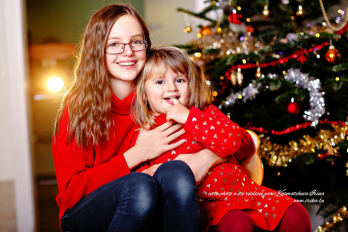 Nouvel An en tenue rouge