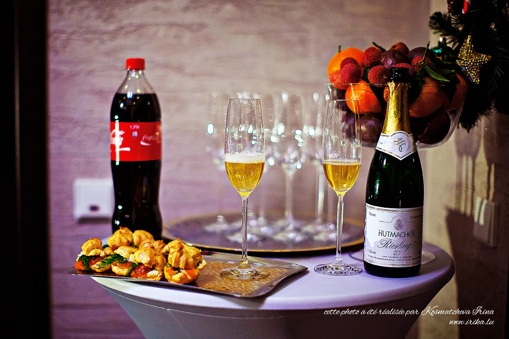 Composition des bouteilles et des verres