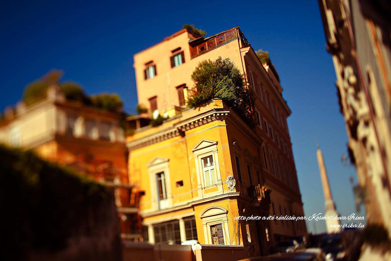 Dans la rue de Rome