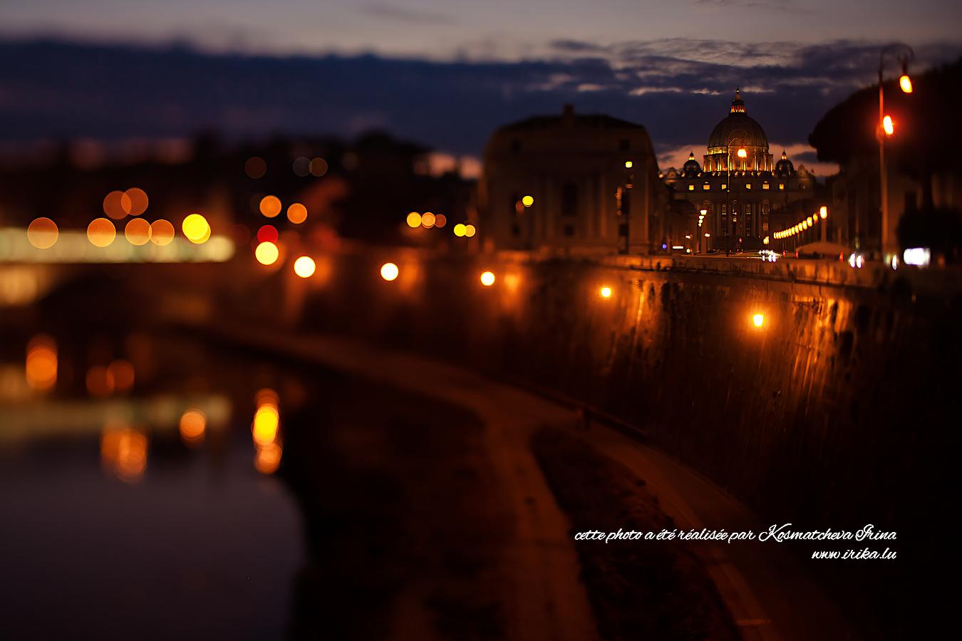 Rome dans la nuit