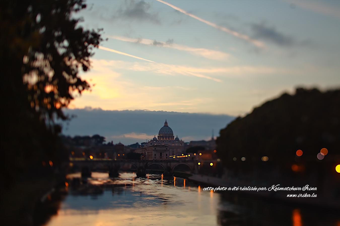 Vatican en soirée