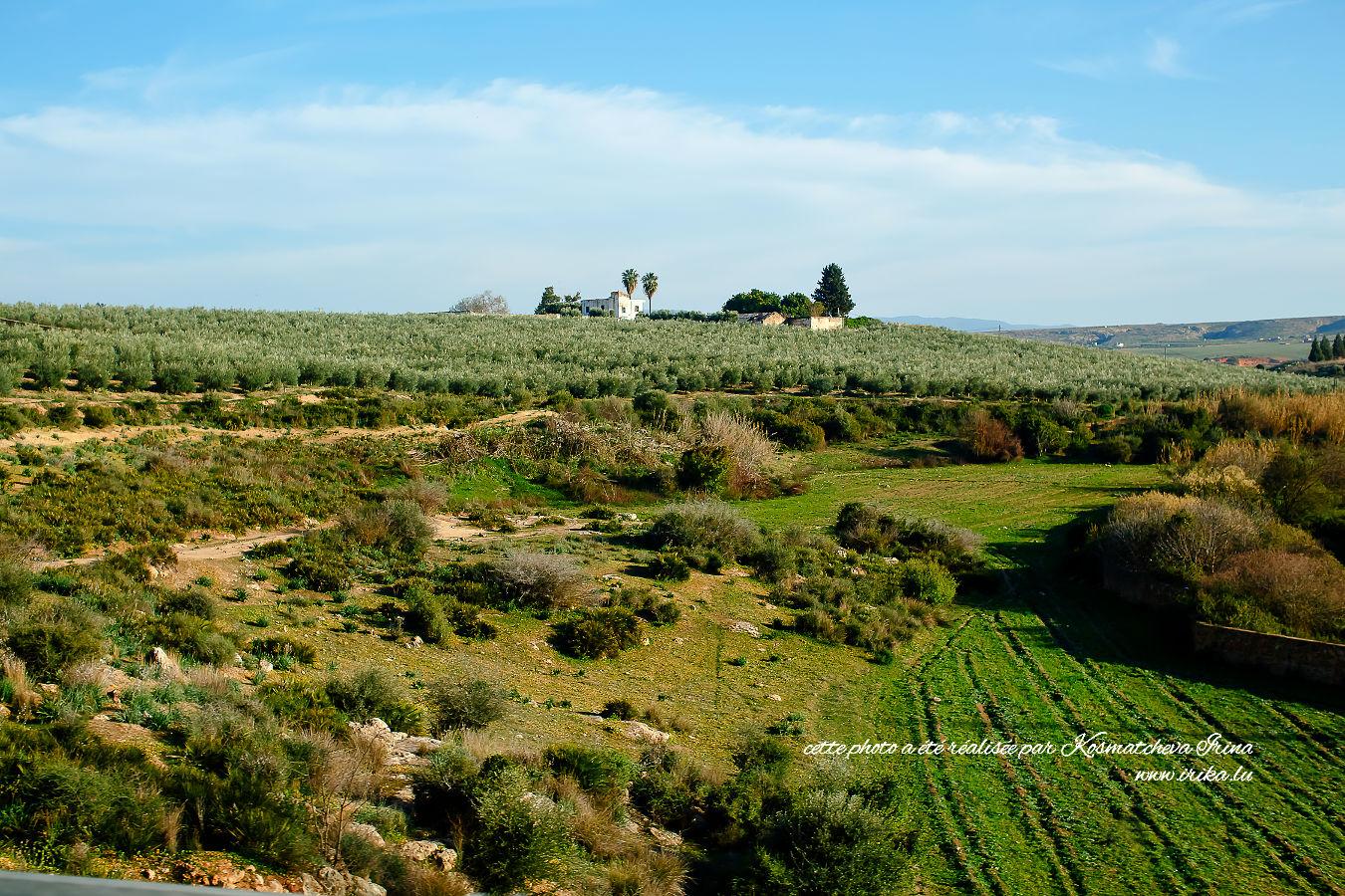 Paysage du nord du Maroc