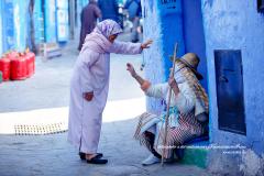 Dialogue de deux femmes